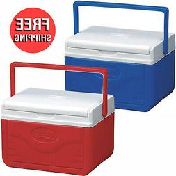 Personal Cooler Food Ice Chest Lunch Box 5 Quart Small Picni
