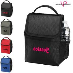 Personalized Insulated Lunch Bag Sack Cooler Tote