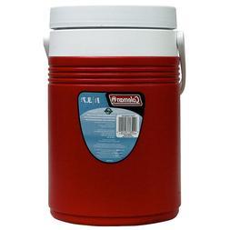 Portable 1-Gal Polyurethane Beverage Jug Cooler with Hinged
