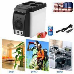 Portable 12V 6L Mini Electric Car Fridge Box Refrigerator Co