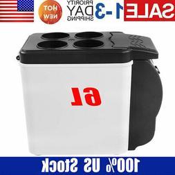 Portable 12V Electric Cooler Warmer Box Mini Fridge Refriger