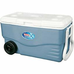 Portable 5 Day Camping Cooler with Wheels