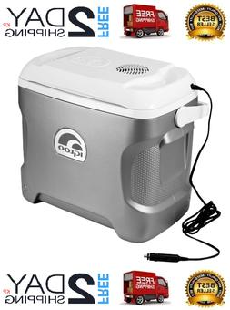 Portable Cooler For Car 12V Electric Compact Camping Travel