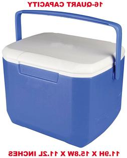 Portable Drink Ice Chest Cooler, Outdoor Food Lunch Box For