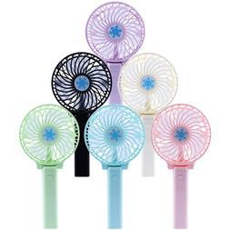 Portable Rechargeable Fan Mini Handy Fan Pocket Size Air Coo