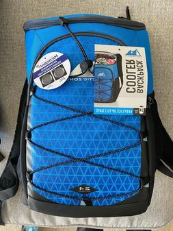 Arctic Zone PRO 24 Can Backpack Cooler Color violet gray and