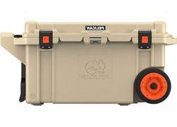 Pelican ProGear 80 Quart Elite Wheeled Cooler, Tan, 80QW-2-T