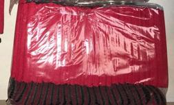 Red Can Cooler Huggie Koozie Blank Lot 25 Wedding Screenprin