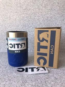 RTIC 12oz Can Cooler | Royal Blue Stainless Steel Insulated
