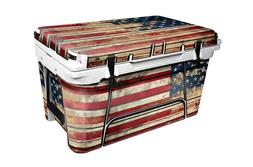 """RTIC Wrap """"Fits Old Mold"""" 45qt Cooler 24mil Full Kit Old Glo"""