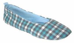 *SALE* Women's Ladies Coolers Ballet Pump Style Slippers Blu