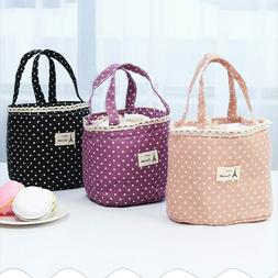 Small Lunch Bag Waterproof Insulated Thermal Cooler Box Carr