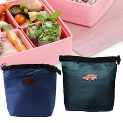 Small Thermal Cooler Insulated Lunch Zipper Bags Bento Picni