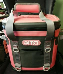 RTIC SOFT PACK 20 CAN COOLER, PINK, BRAND NEW
