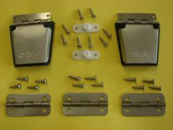 Igloo Stainless Steel Metal Cooler Replacement Hinges  & Lat