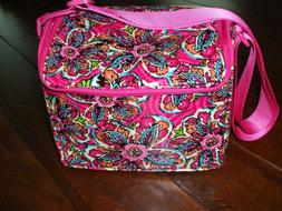 Vera Bradley, Stay Cooler Insulated Lunch Tote, Sunburst Flo
