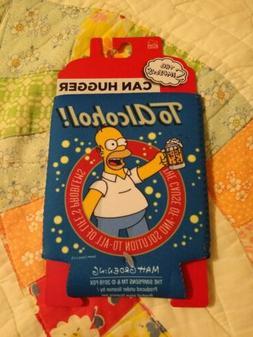 The Simpsons Homer Can Cooler Hugger Koozie Sleeve Brand NEW