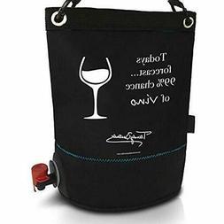 "Thermocoolers Wine Purse Cooler - BYOB Portable Dispenser  """