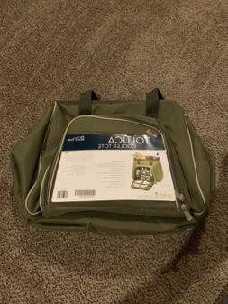 Picnic Time Toluca Insulated Cooler Picnic Tote, Green, new