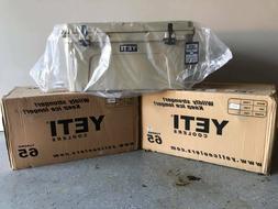 Yeti Tundra 65 Hard Cooler - Tan - New In Box