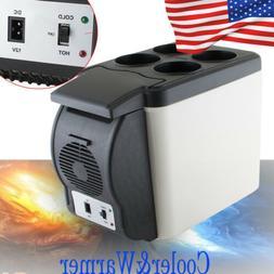 US Portable 12V Electric Cooler Warmer Box Fridge Car Boat T