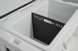 USA Tuff Black Short Divider for YETI Tundra 125qt Cooler Ac