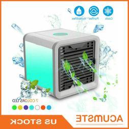 USB Portable Mini Air Conditioner Cooler AC Fan Humidifier A