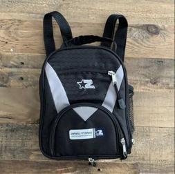 Vintage Starter Backpack Black/Gray Small Travel Cooler Bag