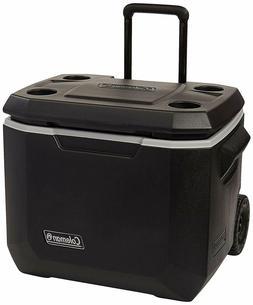 Cooler With Wheels Portable Beverage On Indoor Outdoor Colem