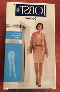 JOBST WOMEN OPAQUE PANTYHOSE 15-20 MMHG COMPRESSION STOCKING