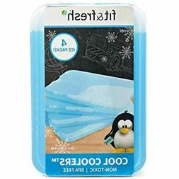 XL Cool Coolers Reusable Ice Packs, Long Lasting Lunch Boxes