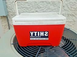 YETI Coolers Decal Sticker joke Camping Funny SHITY fits RTI