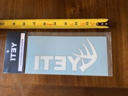 Yeti White Tail Shed Sticker/Decal Outdoor Cooler Hiking Bac