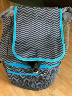 Picnic Time Zuma Cooler Backpack, Waves Collection, Insulate